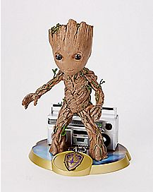 Groot Statue and Keychain - Guardians of the Galaxy Vol. 2