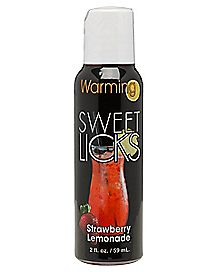 Warming Strawberry Lemonade Gel 2 oz. - Sweet Licks