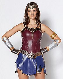 Adult Wonder Woman Corset - DC Comics