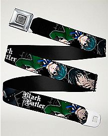 Sebastian and Ciel Seatbelt Belt - Black Butler