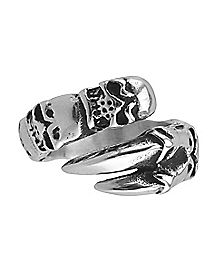Claw Skull Ring - Size 12