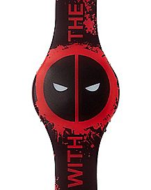 LED Deadpool Watch - Marvel