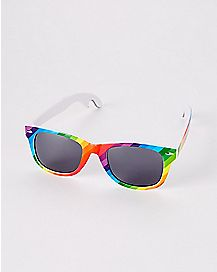 Pride Rainbow Bottle Opener Sunglasses