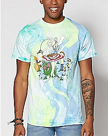 Tie Dye Rick and Morty T Shirt