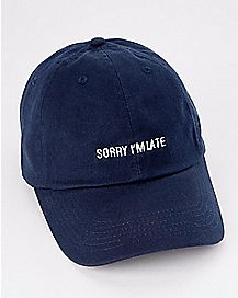 Sorry I'm Late Dad Hat