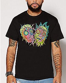 Decay Faces Rick and Morty T Shirt