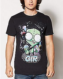 Retro Gir T Shirt - Invader Zim