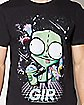 Retro Gir T Shirt - Invader Zim