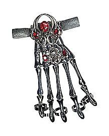 Red Gem Skeleton Finger Armor