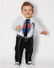 Clark Kent Baby Romper - Superman