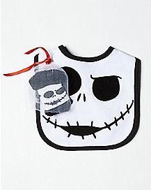 Jack Skellington Bib and Sock Set - The Nightmare Before Christmas