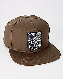 Attack On Titan Snapback Hat