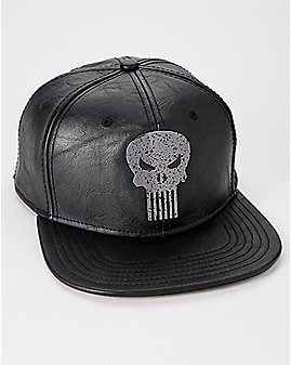 Metal Badge Punisher Snapback Hat - Marvel