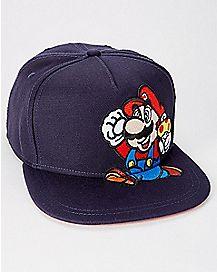 Mario Snapback Hat - Nintendo