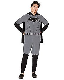 Caped Batman Pajama Costume - DC Comics