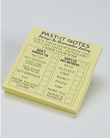Past-It Notes