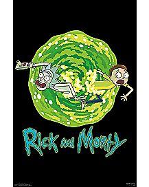 Portal Rick and Morty Poster