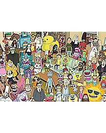Group Rick and Morty Poster