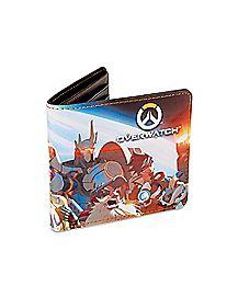 Planet Overwatch Bifold Wallet