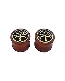 Tree of Life Plugs - 2 Pack