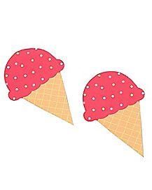 Ice Cream Cone Nipple Pasties