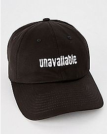 Unavailable Dad Hat
