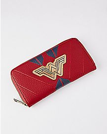 Wonder Woman Zip Wallet - DC Comics