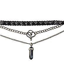 Amuck Layered Necklace - Hocus Pocus