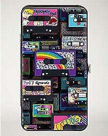 Cassette Tape Nickelodeon Hinged Wallet