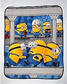 Minions Despicable Me Fleece Blanket