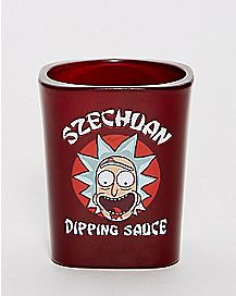 Rick and Morty Szechuan Dipping Sauce Shot Glass - 2 oz.