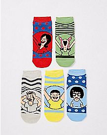 Bob's Burgers Socks - 5 Pack