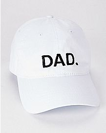 White Dad Dad Hat