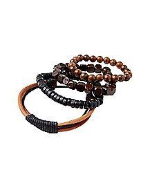 Multi-Pack Beaded Bracelets - 4 Pack