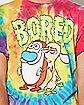 Tie Dye Ren and Stimpy T Shirt - Nickelodeon