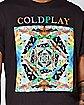 Kaleidoscope Coldplay T Shirt