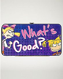 What's Good Helga and Angelica Hinged Wallet - Nickelodeon
