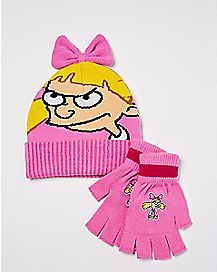 Helga Hat and Glove Set - Hey Arnold!