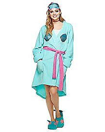 Mermaid Robe with Mask