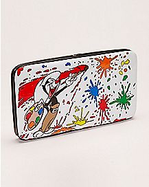 Paint Splatter Animaniacs Hinge Wallet