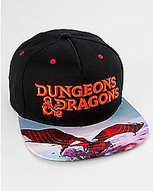 Dungeons & Dragons Snapback Hat