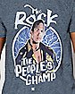 People's Champ The Rock T Shirt - WWE
