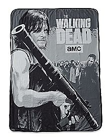 Daryl Fleece Blanket - The Walking Dead