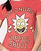 Szechuan Dipping Sauce T Shirt - Rick and Morty