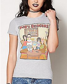 Belcher Family Picture T Shirt - Bob's Burgers