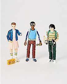 Eleven Lucas Mike Figures 3 Pack - Stranger Things