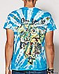 Tie Dye Alman Brothers Band T Shirt