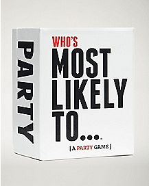 Who's Most Likely To Party Game