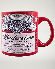 Budweiser Coffee Mug 20 oz. - Anheuser Busch