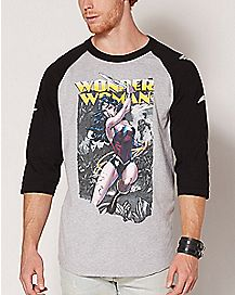 Wonder Woman Raglan T Shirt